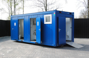 20ft Sanitary Container With Hook Lift System Ctx
