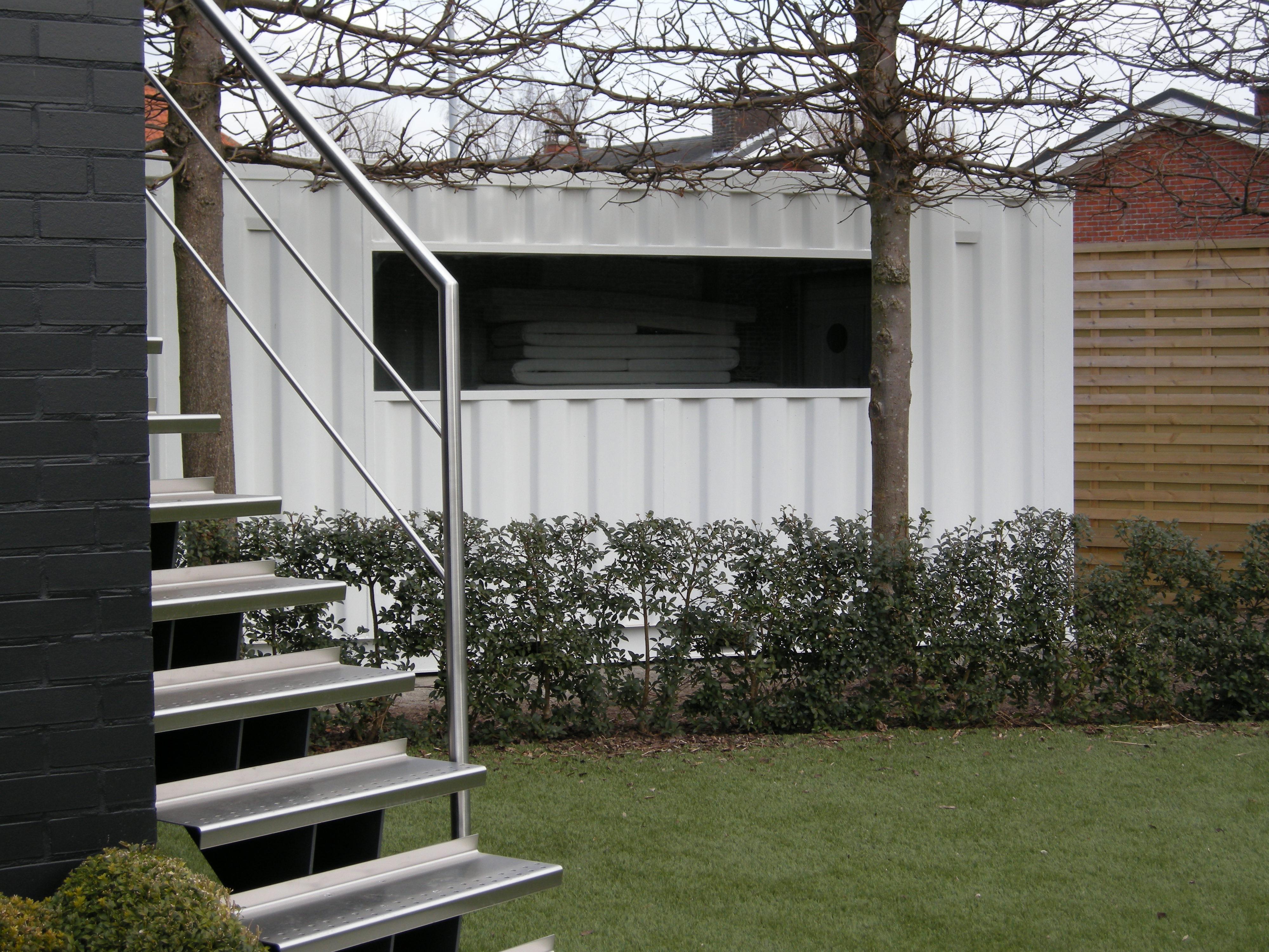 Container gartenhaus referenzen mechanic international - Container garten ...