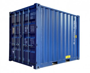 10FT SHIPPING CONTAINER (FIRST TRIP) (1)