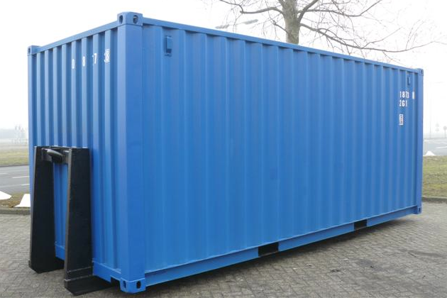 20ft Shipping Container With Hook Lift System First Trip