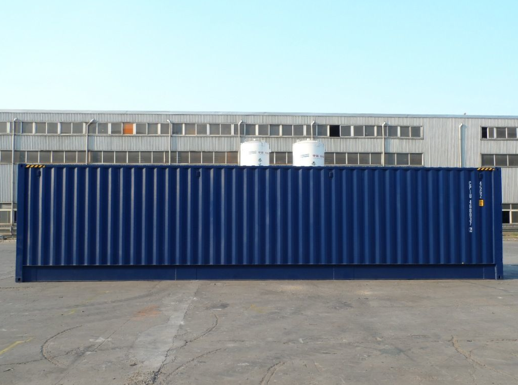 40ft High Cube Open Side Container First Trip Products