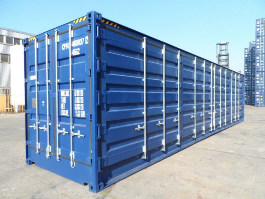 40FT HIGH CUBE OPEN SIDE CONTAINER (FIRST TRIP) | Products