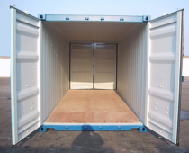 20FT DOUBLE DOOR CONTAINER (FIRST TRIP)