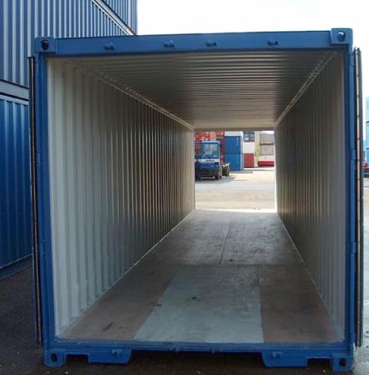 Conteneur maritime premier voyage double porte de 40 pieds for Conteneur maritime prix