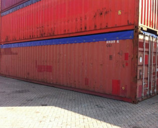 TWEEDEHANDS 40FT OPEN TOP ZEECONTAINER (4)