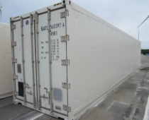 TWEEDEHANDS 40FT REEFER HIGH CUBE (MET WERKENDE MOTOR)
