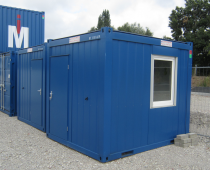GEBRAUCHTE BÜROCONTAINER 10FT (CTX)