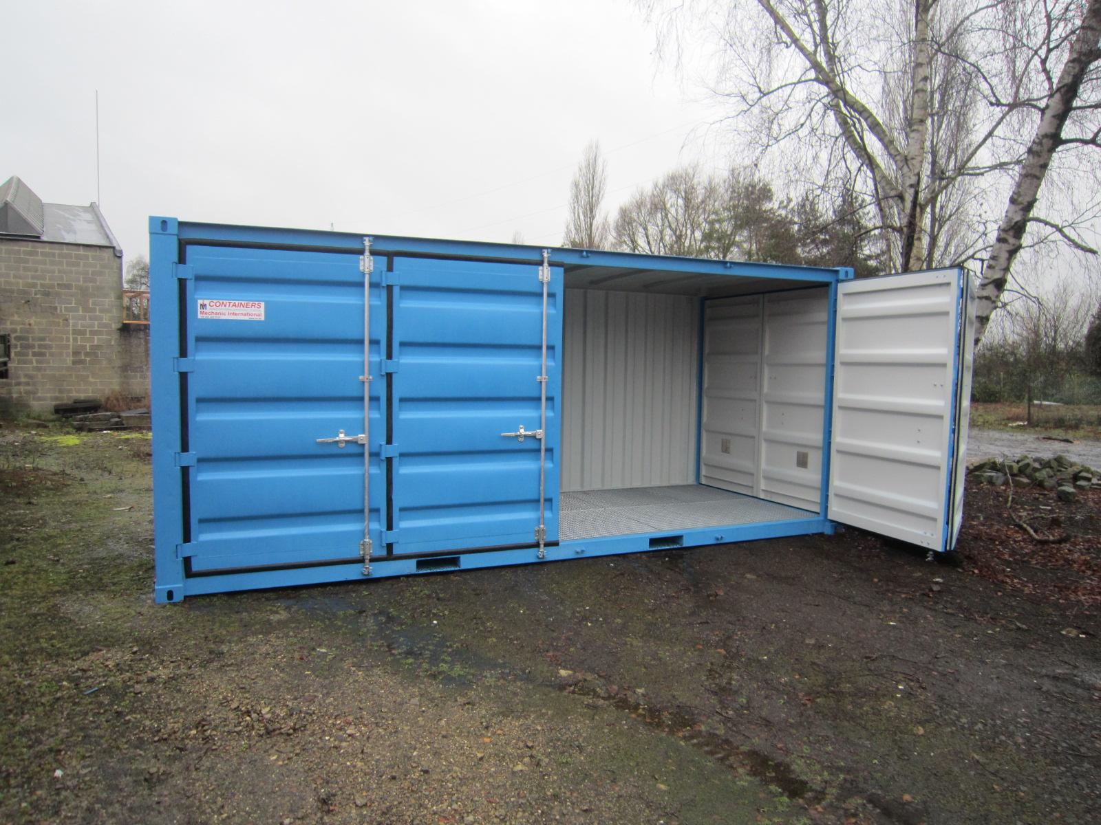 Conteneur avec ouverture lat rale r f rences mechanic for Plan container 20 pieds