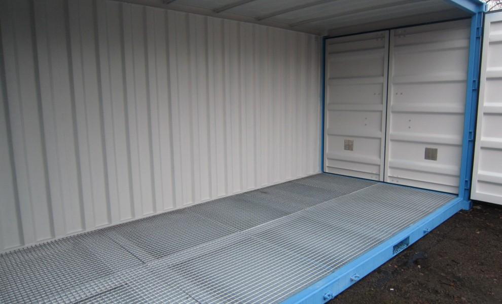 conteneur avec ouverture lat rale r f rences mechanic international. Black Bedroom Furniture Sets. Home Design Ideas