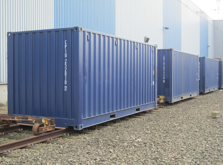 20ft open side containers onze referenties mechanic international. Black Bedroom Furniture Sets. Home Design Ideas