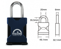SQUIRE STRONGHOLD SS45 PADLOCK