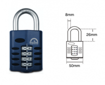 SQUIRE CP50 RECODABLE COMBINATION PADLOCK