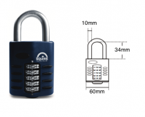 SQUIRE CP60 RECODABLE COMBINATION PADLOCK