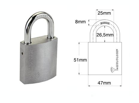 MUL-T-LOCK PADLOCK G47 (INTEGRATOR) | Products | Mechanic
