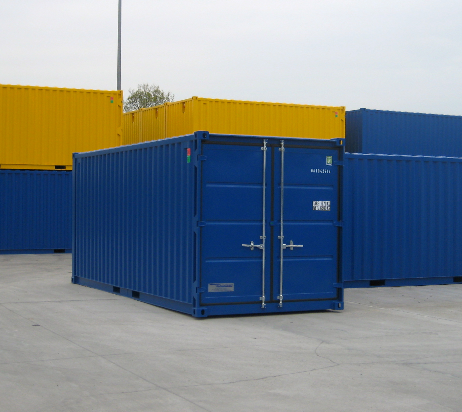 NEW STORAGE CONTAINER 20FT CTX Products Mechanic International
