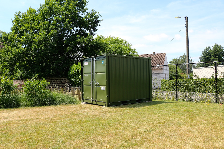 Container als gartenhaus cool reifenlager reifen - Container als gartenhaus ...