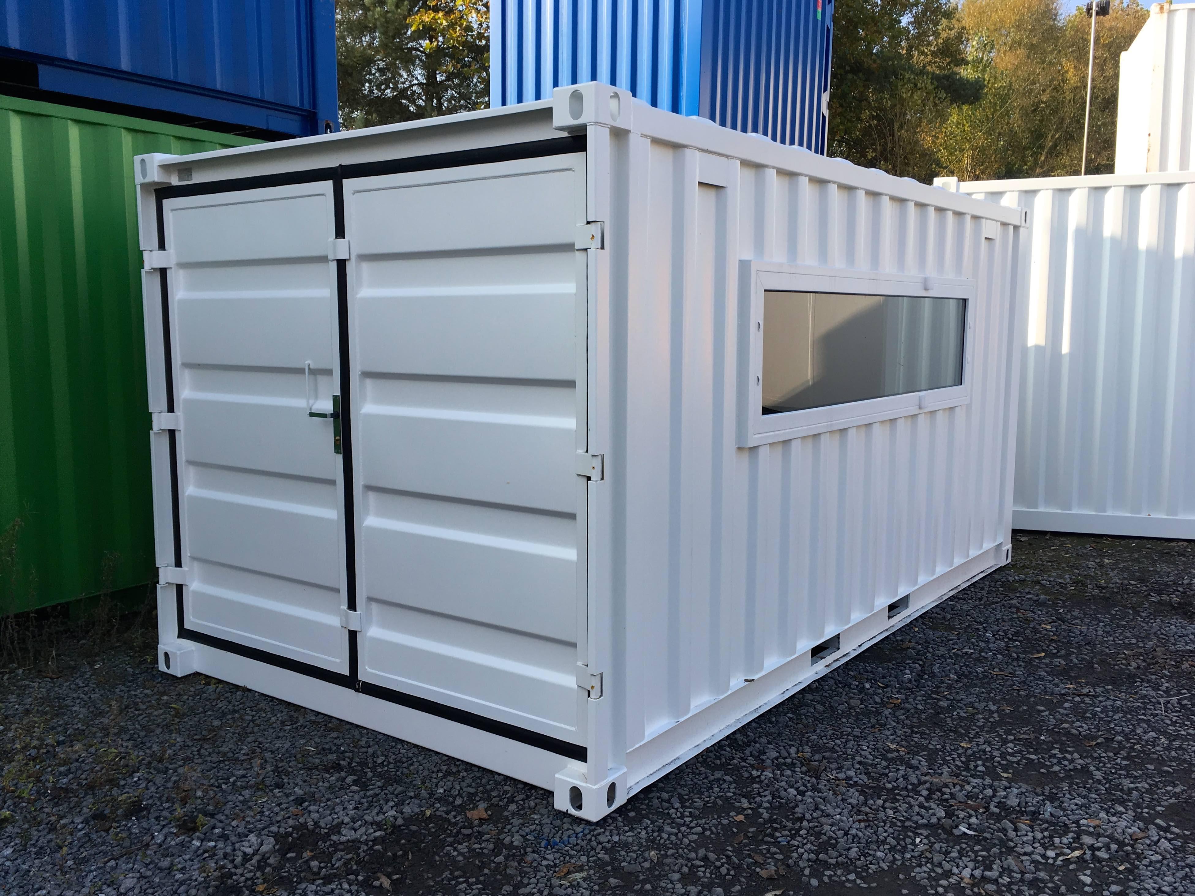 Gartenhaus in einem Container | Referenzen | Mechanic International