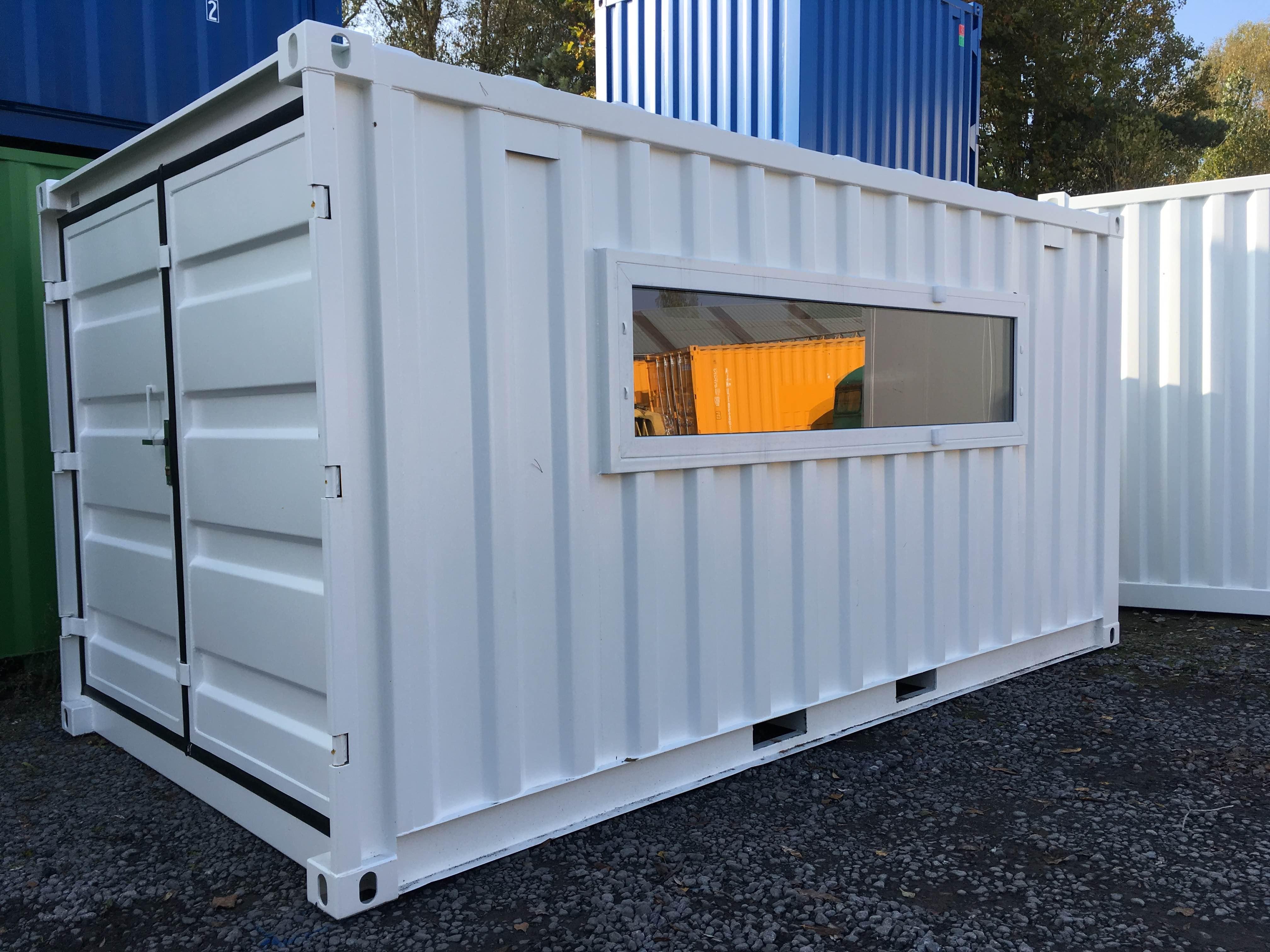 Gartenhaus In Einem Container Referenzen Mechanic International