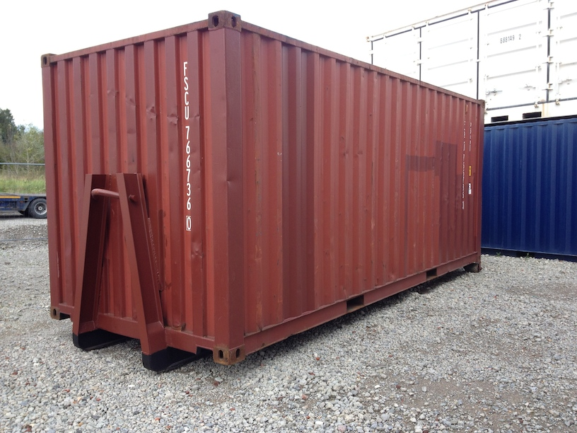 20FT SHIPPING CONTAINER WITH HOOK LIFT SYSTEM (USED