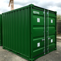 Insulated 10FT storage container with grid floor (1)