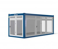 New: showroom container