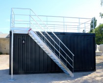 STAIRS FOR THE TERRACE CONTAINER