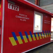 Brandweer container