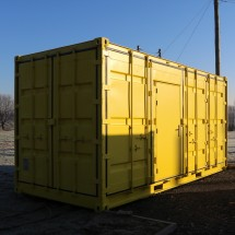 20ft Open side high cube container