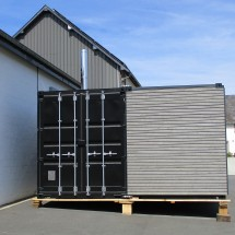 Linked technical 20ft containers
