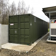 Backup power container
