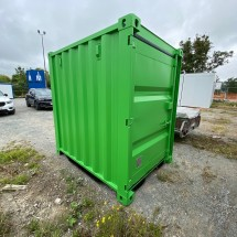 5ft green storage container
