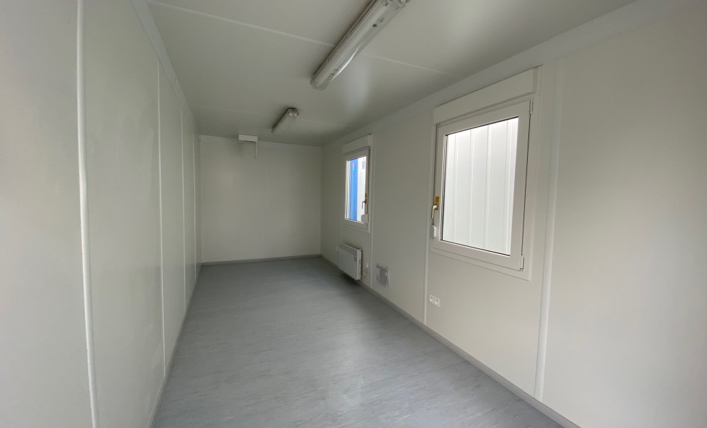 20ft office container with white interior