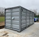 20ft Umwelt-Container open side